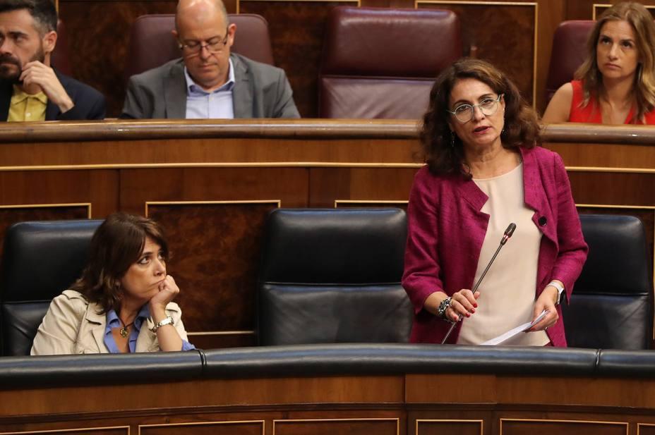 Herrera entrevista a la ministra Montero tras el varapalo a sus Presupuestos