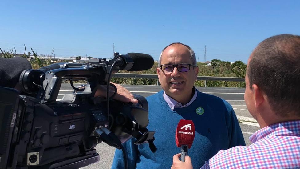 David Martín, candidato de AndalucíaXsí