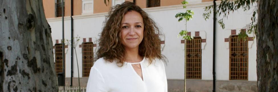 Isabel Casalduero portavoz Comité electoral del PSOE en Lorca