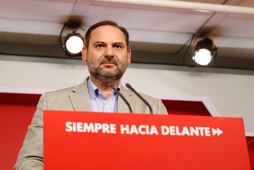 Ábalos (PSOE) prefiere la abstención de Ciudadanos a la de ERC: Deberían contribuir por la estabilidad de España