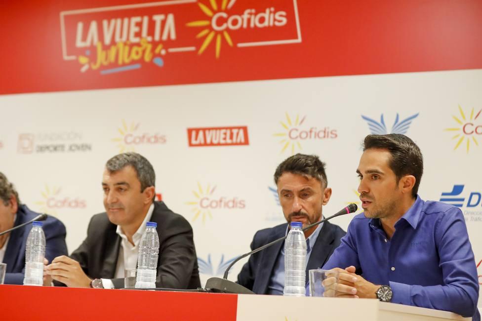 La IX Vuelta Junior Cofidis se refuerza con el fichaje de la Fundación Alberto Contador