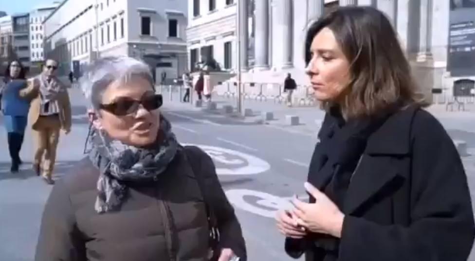 Soy feminista y voto a Vox. El vídeo viral de una mujer que deja sin palabras a Sandra Barneda
