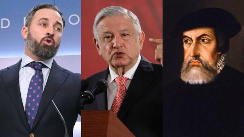 La lección histórica de Vox al presidente de México por sus palabras contra Hernán Cortés