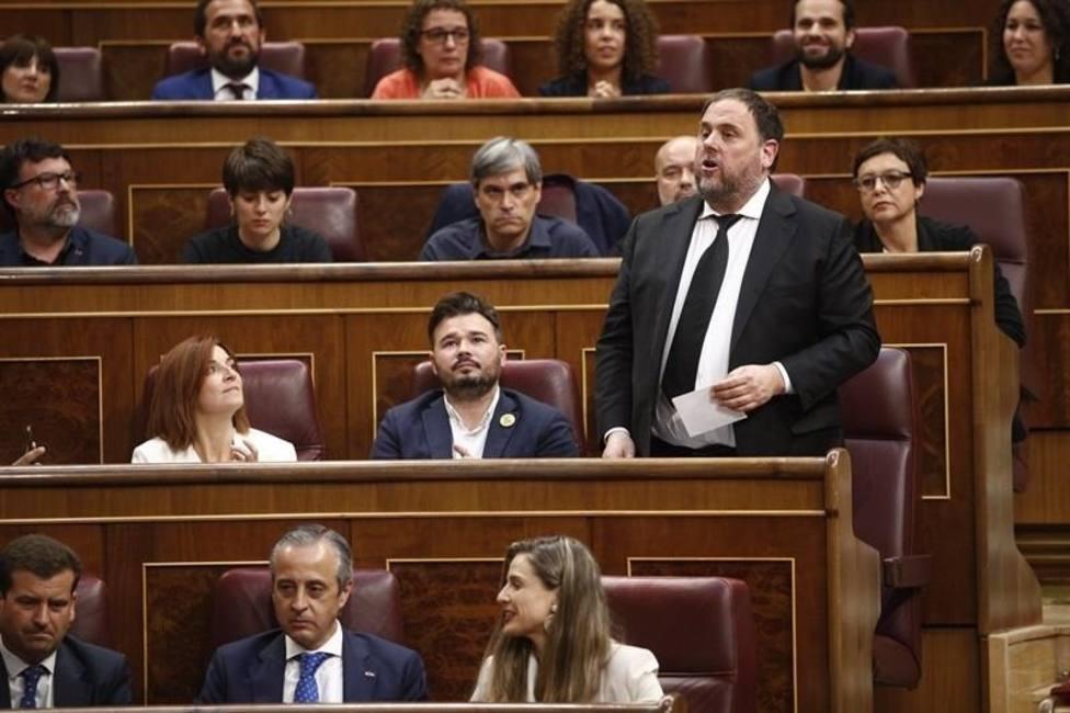 Oriol Junqueras en el Congreso de Diputados