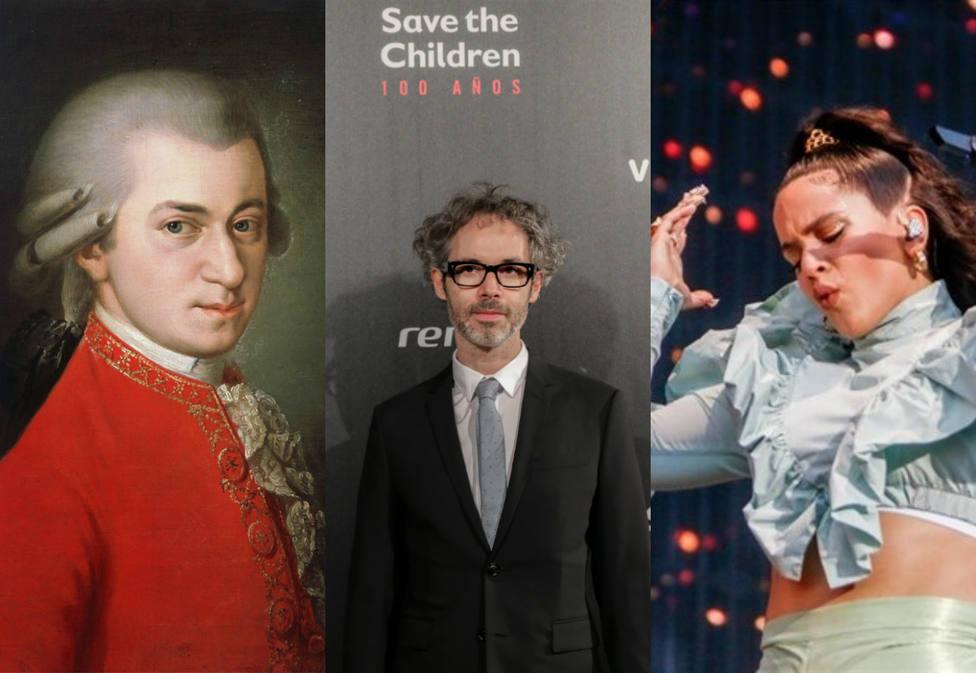 El pianista James Rhodes incendia las redes al comparar a Mozart con Rosalía