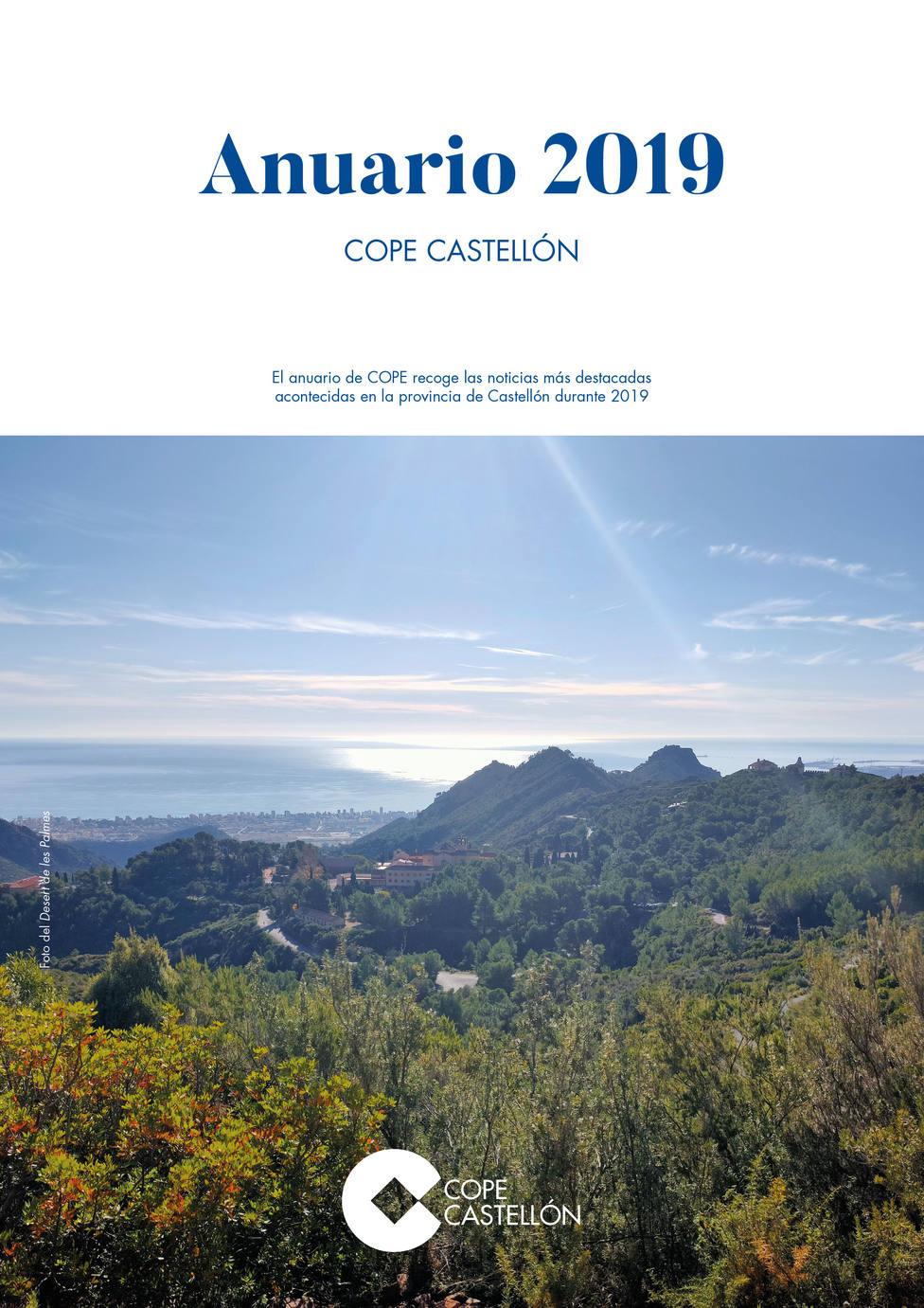 Portada del Anuario 2019 de COPE Castellón