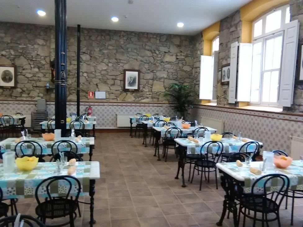 Foto de archivo del interior de la Cocina Económica de Ferrol - FOTO: Cocina Económica