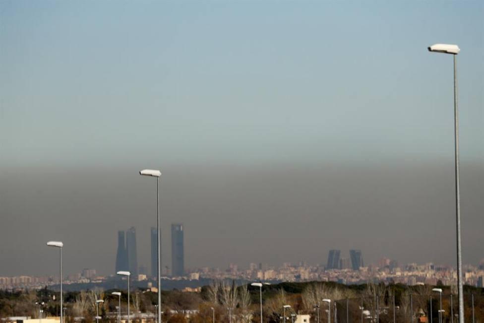 Así ha bajado la contaminación en Madrid por la cuarentena