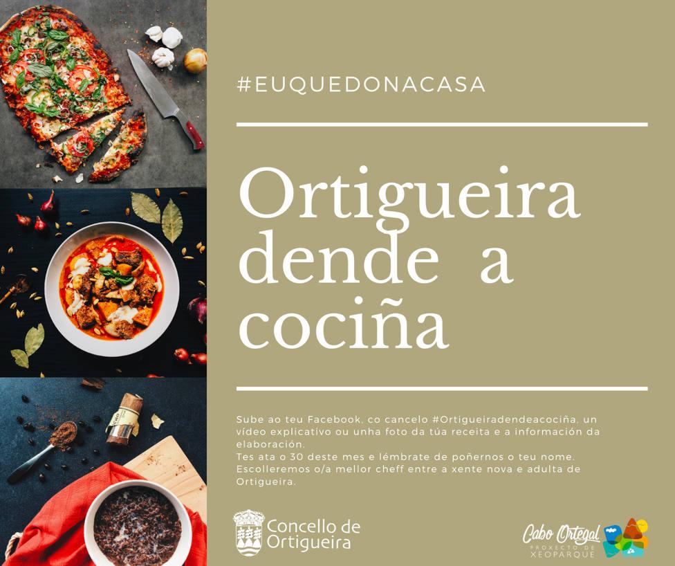 Cartel de la iniciativa municipal - FOTO: Concello de Ortigueira