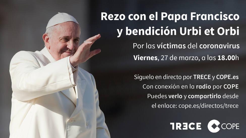 Resultado de imagen de oracion del 27 de marzocon el papa