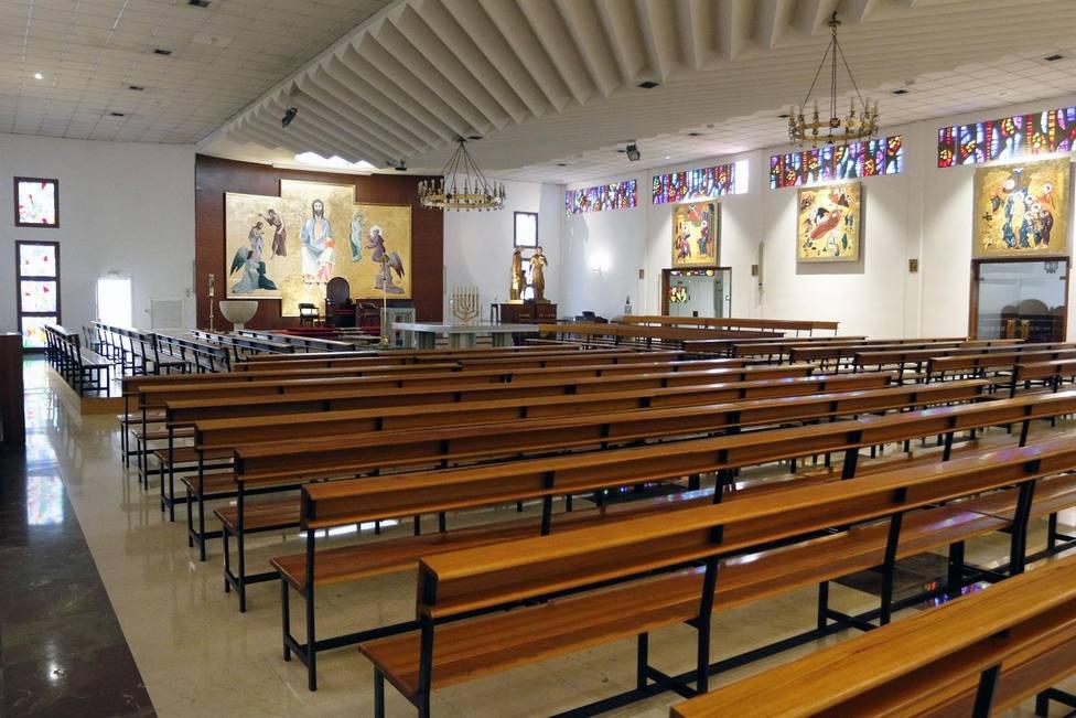 Iglesias vacías en Málaga