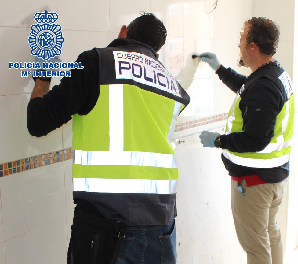 Detienen a dos murcigleros que actuaban en la zona centro y casco histórico de Almería