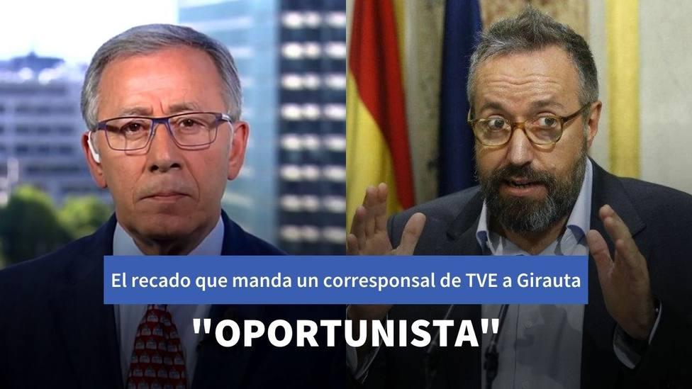El recado que manda José Ramón Patterson, histórico corresponsal de TVE, a Juan Carlos Girauta