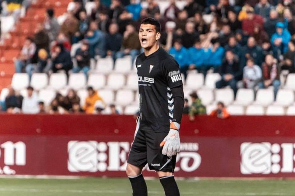 Gabriel Brazao, en un partido con el Albacete