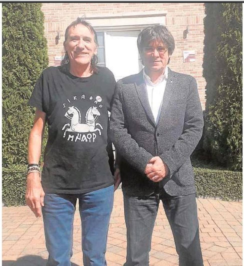 Bentanachs ha sido recibido por Puigdemont en su casa de Waterloo