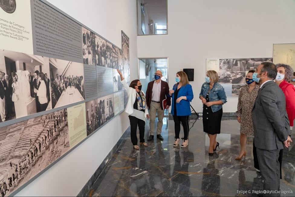 Una exposición fotográfica recorre la evolución del Museo del Teatro Romano