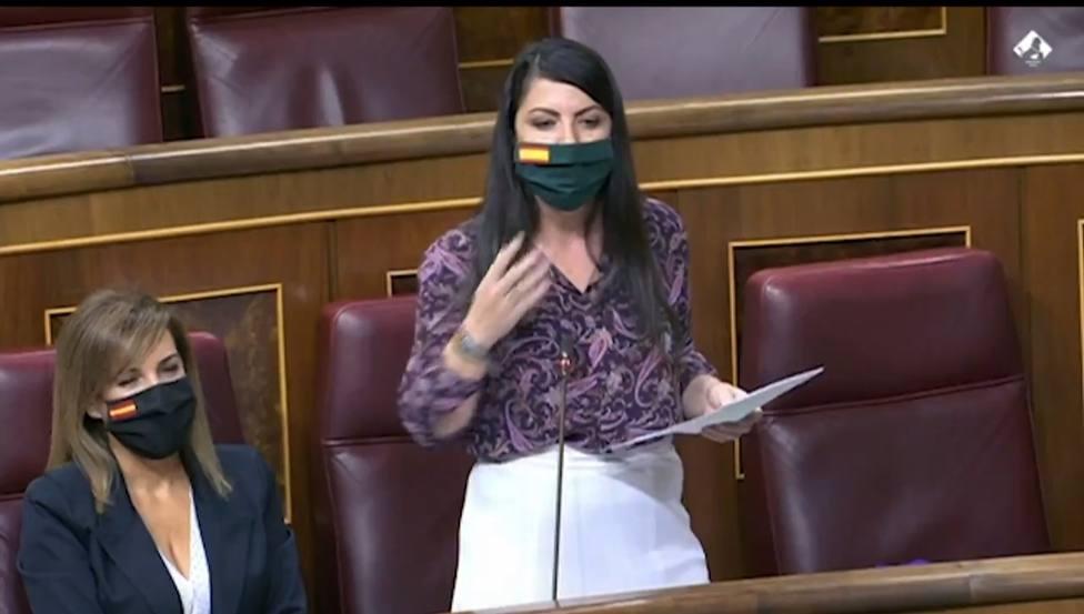 Macarena Olona asegura que Iglesias practica el matonismo político
