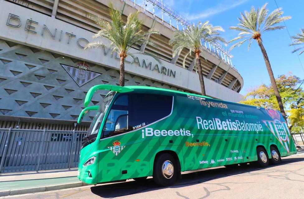 Nuevo autrobús del Betis