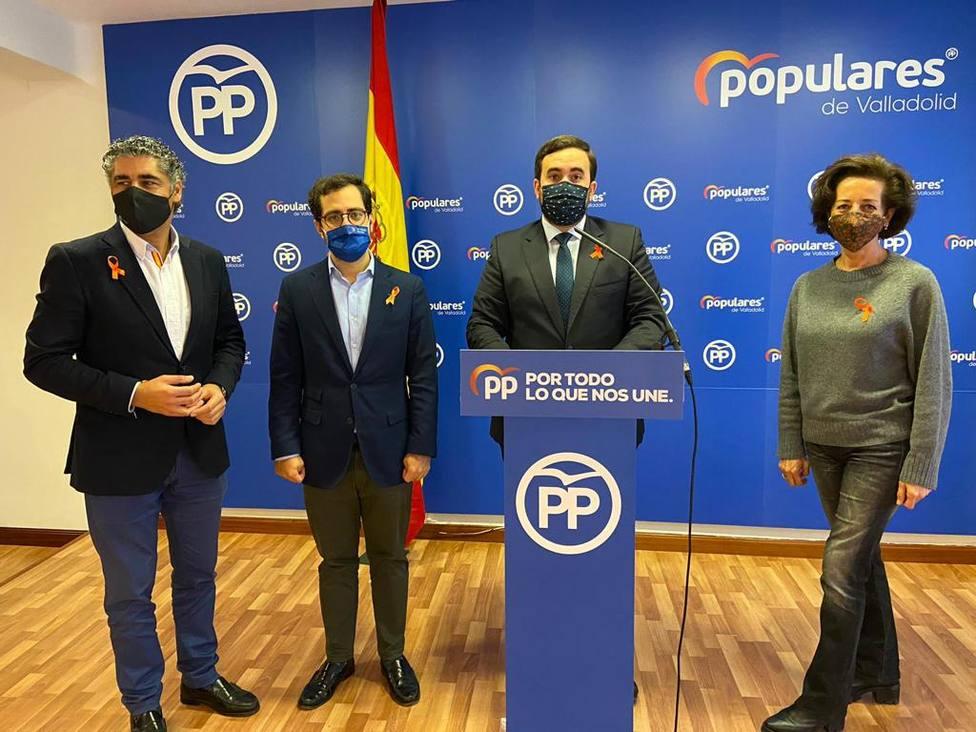 Los parlamentarios del PP enmendarán las cuentas del estado para Valladolid con 25 propuestas