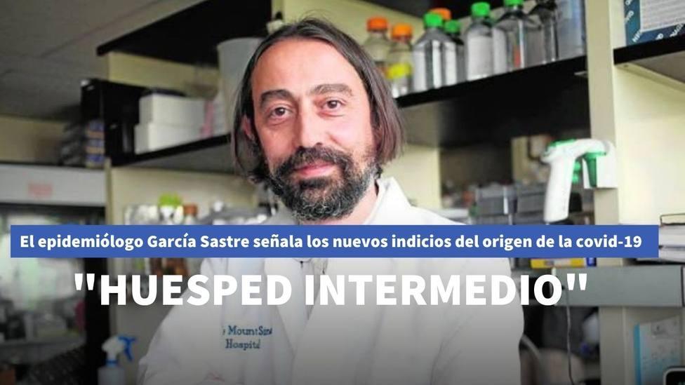 El epidemiólogo García-Sastre apunta a nuevos indicios sobre el origen del coronavirus