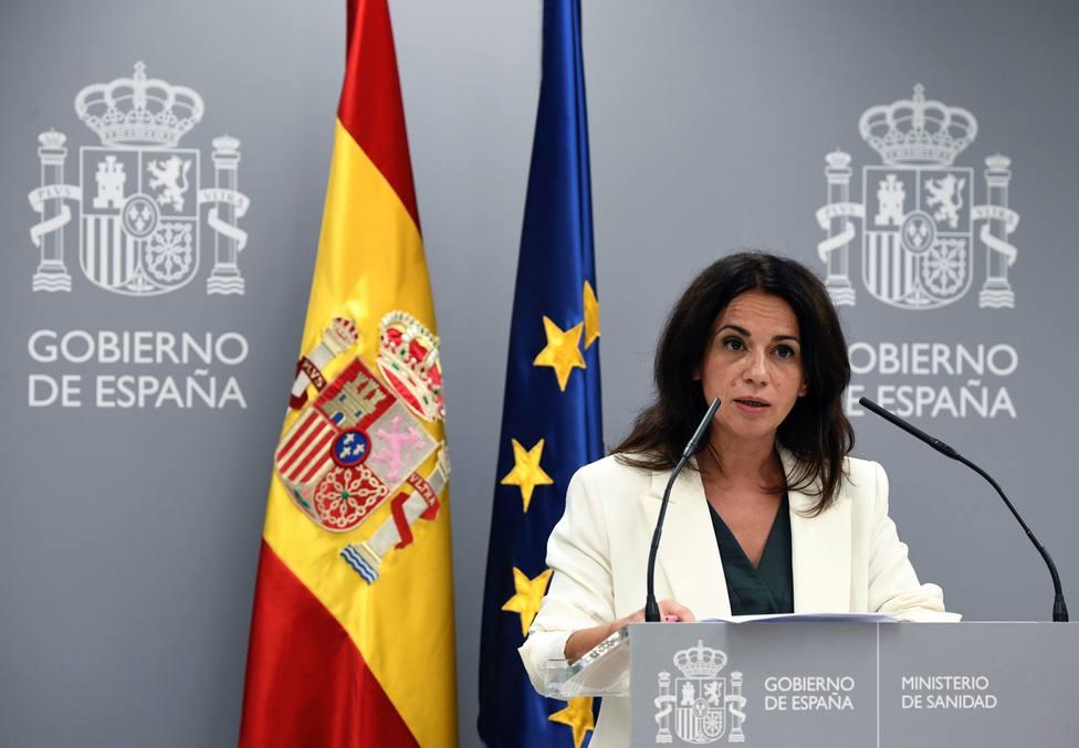 Silvia Calzón: La distribución de dosis de vacuna no se convertirá en ningún mercado