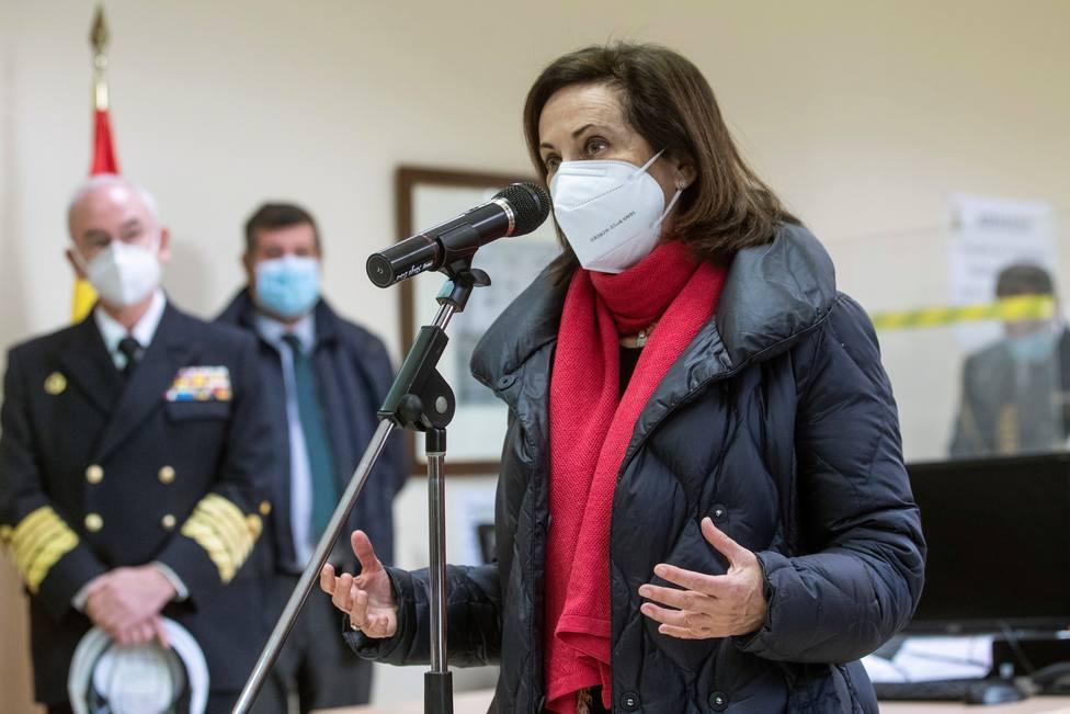 Margarita Robles visita la Unidad de Verificación Epidemiológica