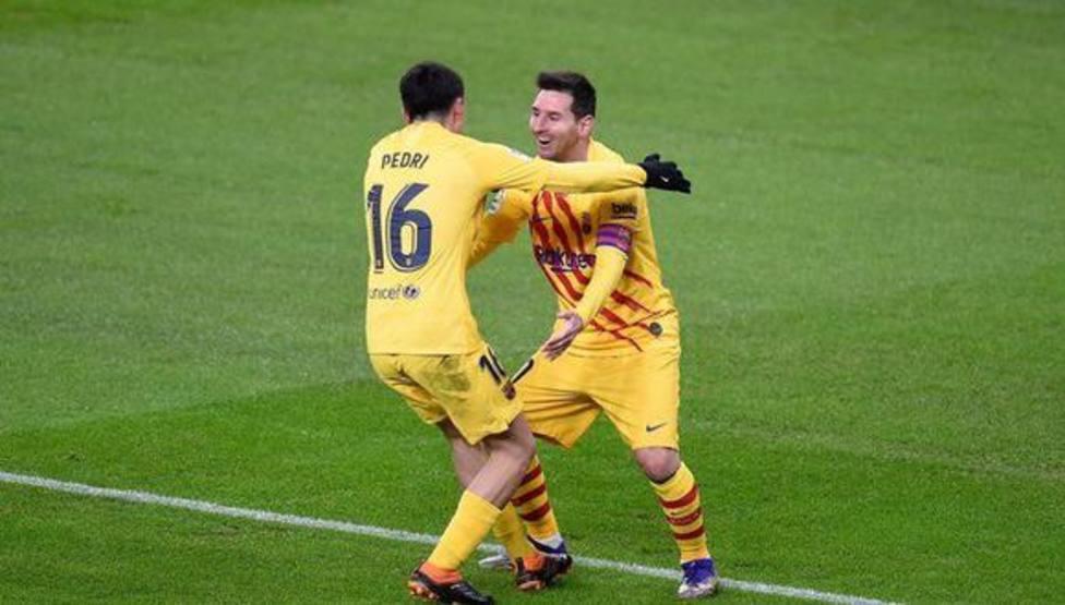 El Rey Messi y su heredero Pedri
