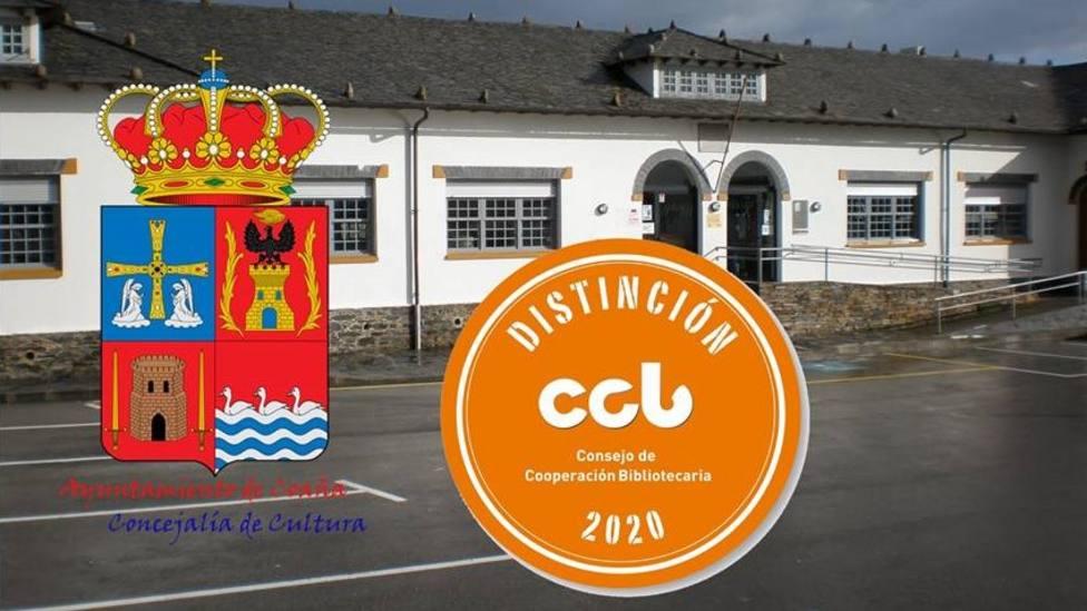 La Biblioteca Municipal Gonzalo Anes de Coaña luce el Sello CCB del Ministerio de Cultura y Deporte