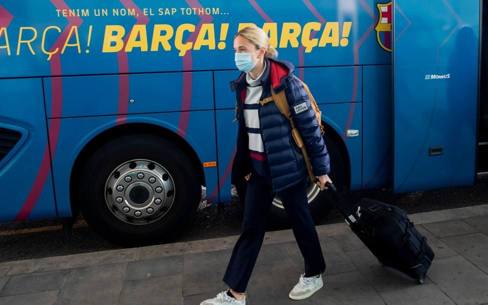 El Barça viaja a Manchester después que Apelación mantenga la sanción a Mapi León