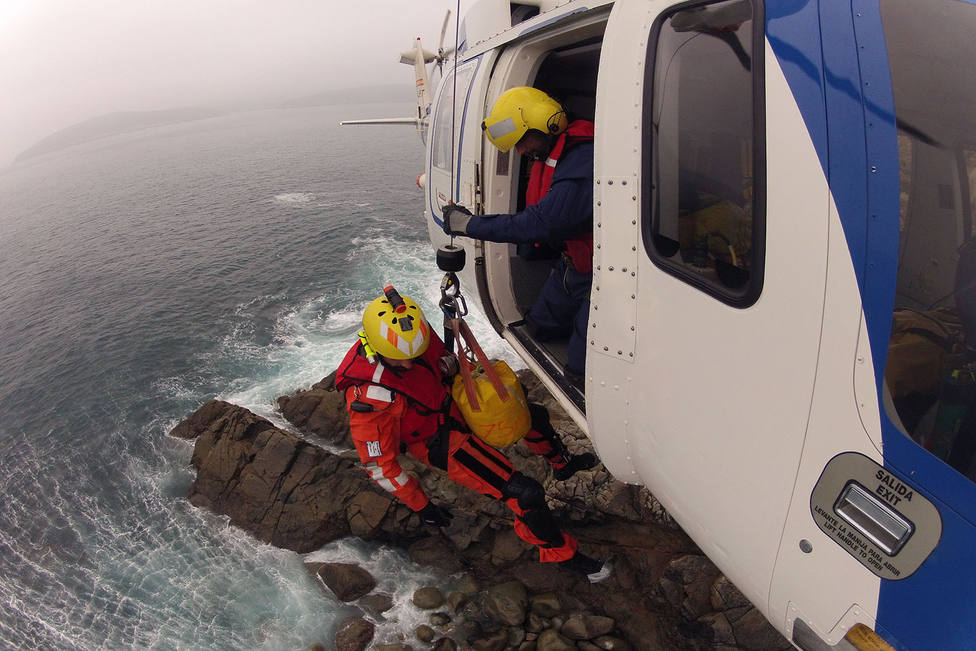 Rescate en helicóptero,(foto recurso)