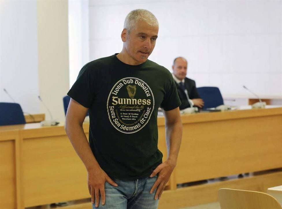 El exdirigente de ETA Javier García Gaztelu, Txapote durante un juicio en la Audiencia Nacional