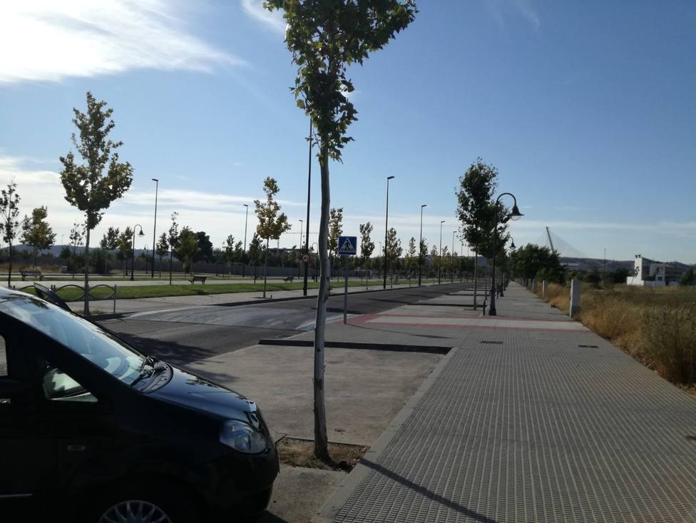 Zona de la Barrosa en Talavera