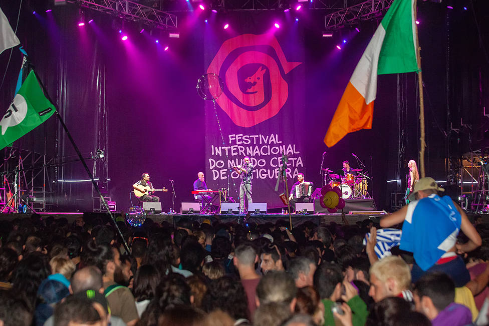 Foto de archivo de la celebración del Festival Internacional del Mundo Celta de Ortigueira