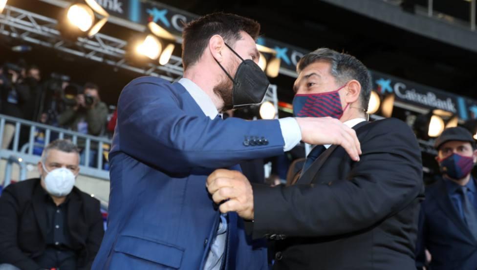 Messi a Laporta: Te lo pondré fácil