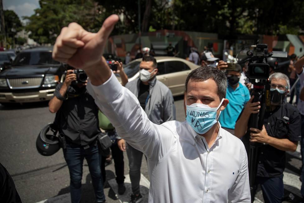 Guaidó propone una negociación con Maduro y las potencias internacionales para superar la crisis venezolana