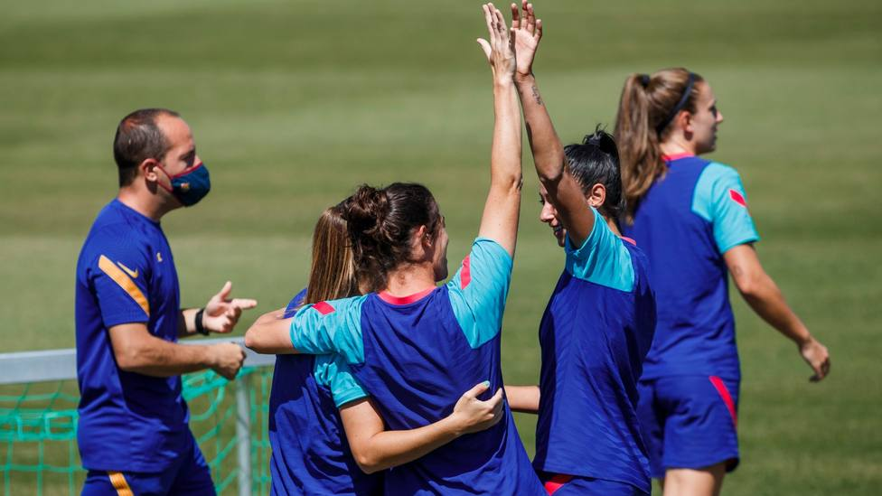 Lluis Cortés: El equipo quiere ganar el triplete
