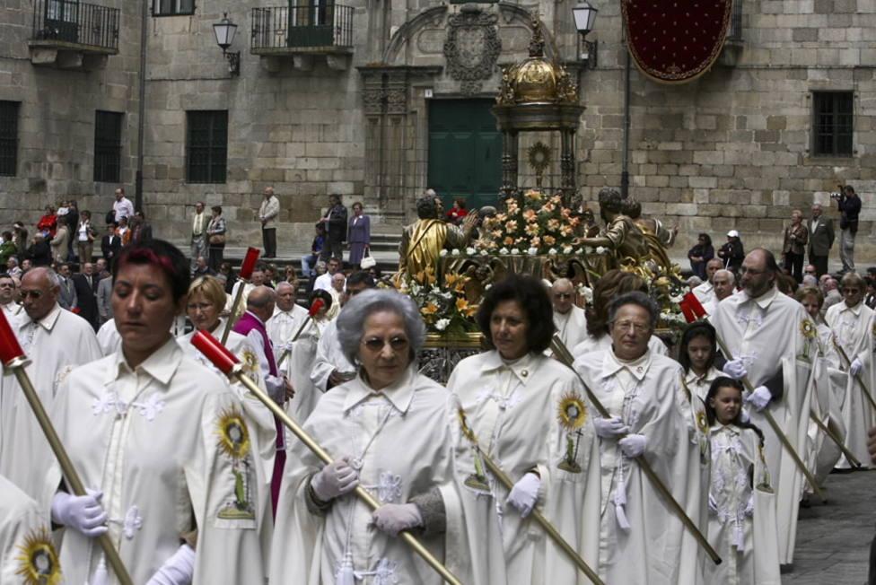 Ofrenda al Santísimo en Lugo
