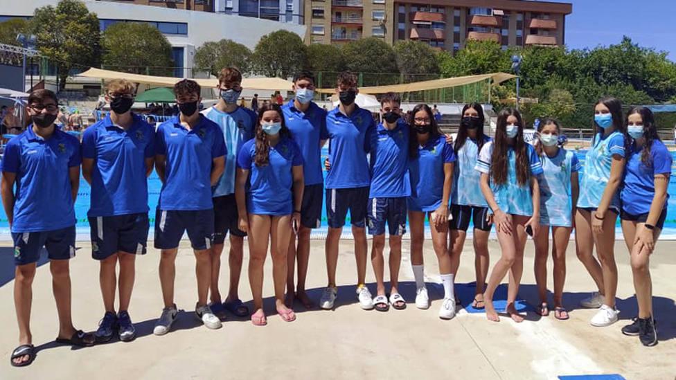 La nadadora motrileña Aroa García se cuelga el bronce en el Andaluz infantil