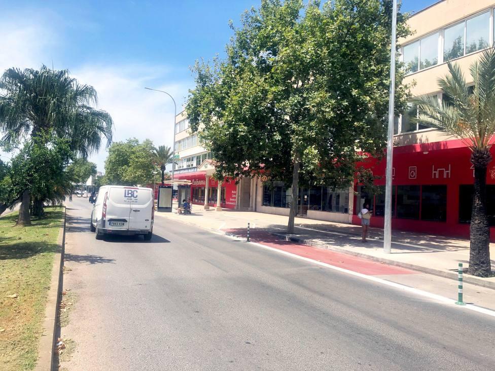 CAEB, en contra del trazado del nuevo carril bici de la calle Aragón