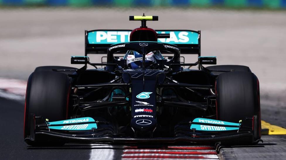 Valtteri Bottas, en el GP de Hungría