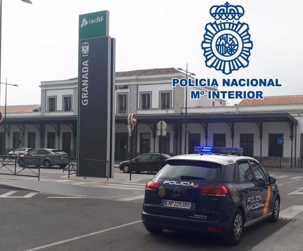 Granada.- Sucesos.- Detenido tras ser sorprendido robando cableado en la estación de tren
