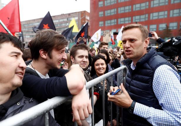 En libertad el opositor ruso Navalni