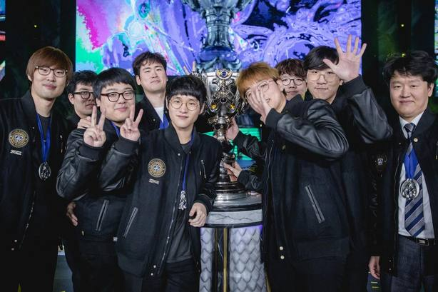 El equipo coreano Samsung Galaxy gana la final mundial de League of Legends en China