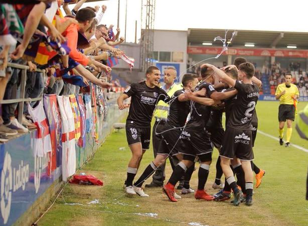 El Huesca, nuevo equipo de Primera División (@SDHuesca)