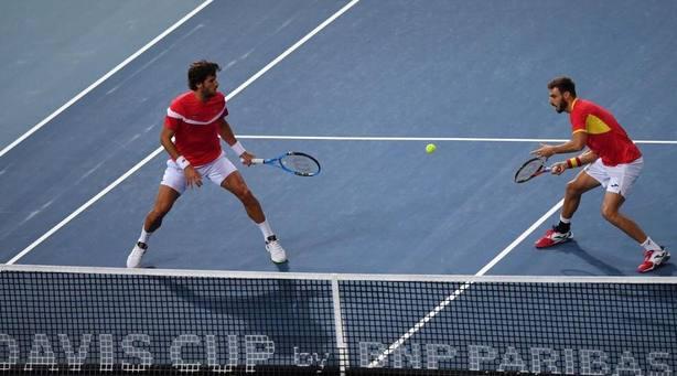 España, eliminada de la Copa Davis