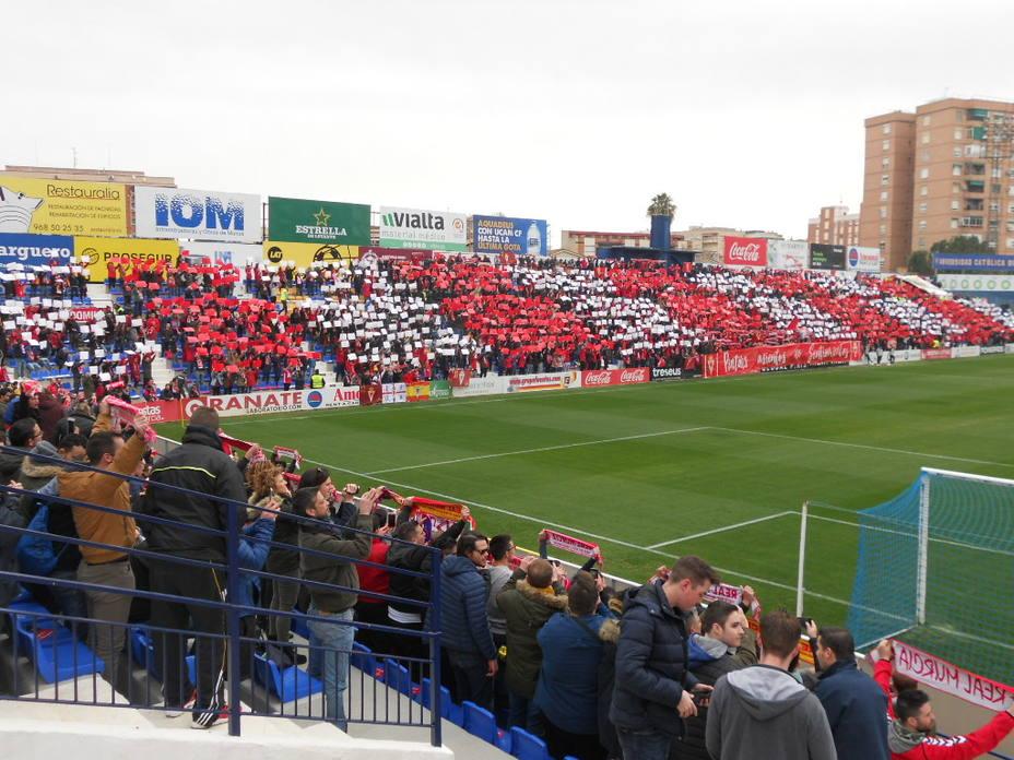 UCAM CF-Real Murcia será día del club