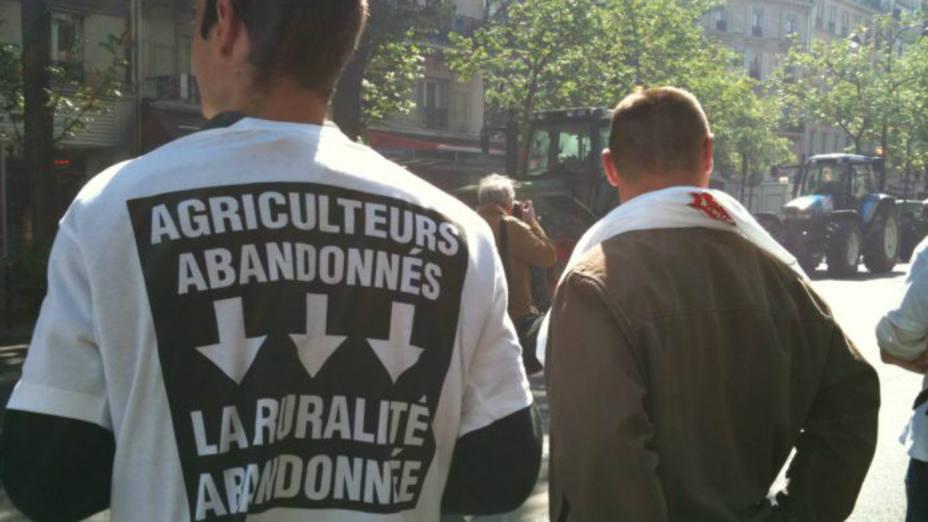 Protestas agricultores españoles en Francia