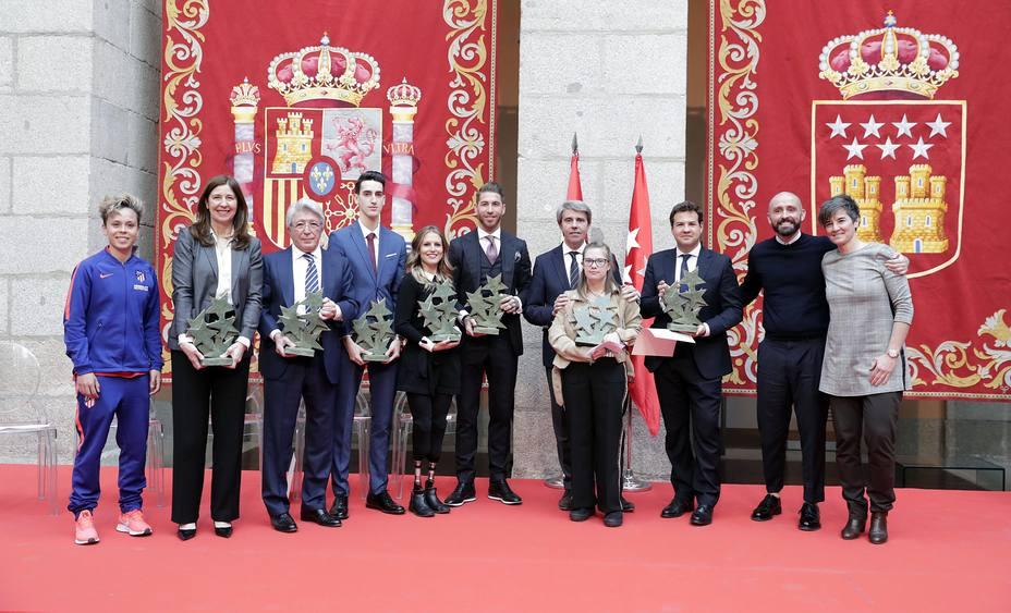 Camino Martínez, Premio Siete Estrellas de la Comunidad de Madrid