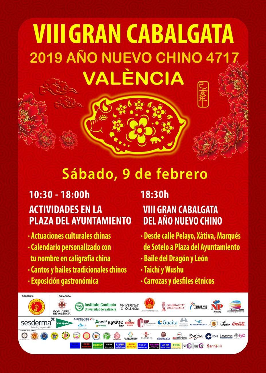 54ba7ff90 València celebra el Año Nuevo Chino - Valencia - COPE