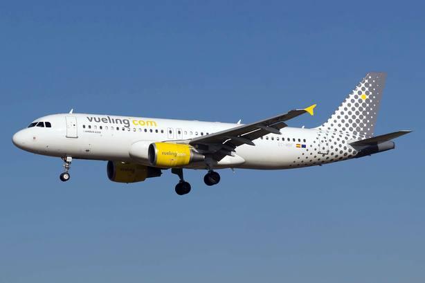 Avión de la compañia Vueling
